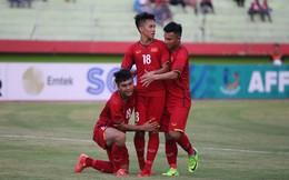 """""""Thay máu"""" đội hình, U19 Việt Nam vẫn trút cơn mưa bàn thắng vào lưới đối thủ"""