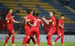 ĐT nữ Việt Nam chói sáng: Sút 10 cú, cả 10 đều thành bàn vào lưới Singapore