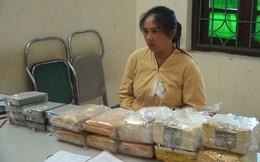 Bắt người phụ nữ vận chuyển số lượng ma túy lớn tại Điện Biên