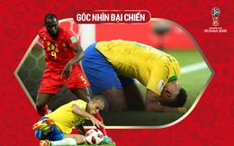 """Góc nhìn đại chiến: Brazil đâu có thua Bỉ, họ tự tay """"bóp chết"""" mình đấy chứ!"""