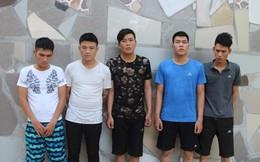 5 thanh niên Hải Phòng thuê ô tô đi bán vàng giả từ Bắc vào Nam