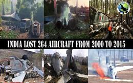 Ấn Độ thiệt hại nặng nề: 15 năm mất số máy bay tương đương quy mô Không quân Việt Nam