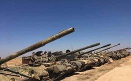 """Tướng """"Hổ Syria"""" thanh sát vũ khí chiếm giữ của quân thánh chiến"""
