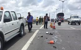 Xe tải tông chết 2 mẹ con trên cầu Cần Thơ