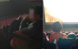 Dân mạng bức xúc với hình ảnh cô gái ngồi lên đùi bạn trai trong rạp chiếu phim