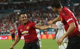"""Man United quật ngã Real Madrid, Mourinho tạm thời thoát khỏi """"máy chém"""""""