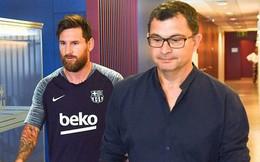 Lionel Messi và đồng đội lặng lẽ trở lại hội quân ở Barcelona