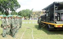 Lữ đoàn 87 huấn luyện cùng phương tiện đặc chủng hiện đại