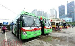 Ba tuyến buýt sử dụng nhiên liệu sạch lần đầu tiên chạy tại Hà Nội