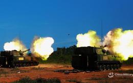 Trung Quốc gây ngạc nhiên khi cho pháo tự hành luyện đòn diệt hạm