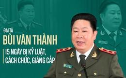 15 ngày bị kỷ luật, cách chức, giáng cấp của Đại tá Bùi Văn Thành