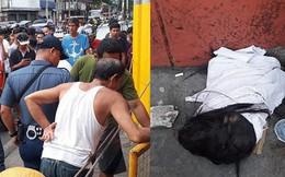 """Philippines: Cả khu phố náo loạn vì """"vật lạ"""" giống đầu người vứt trong khe tường"""