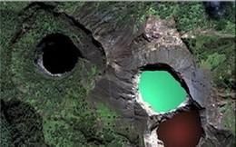 Bí ẩn về những hồ nước đổi màu liên tục trong năm