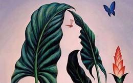 Bạn nhìn thấy cô gái hay lá cây, đáp án sẽ mở ra những lời khuyên giúp bạn gỡ rối khó khăn hiện tại