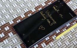 Mở hộp Galaxy Note9: Chiếc Galaxy Note mạnh mẽ nhất từ trước đến nay