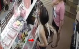 Hà Nội: Girl sành điệu dắt theo con nhỏ đi mua sắm rồi cuỗm luôn cả tiền và đồ của cửa hàng