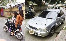Loạt ảnh gây cười: Truyền nhân của ninja và chiếc xe chống trộm trứ danh