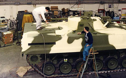 """Bất ngờ lớn: Mỹ """"sản xuất"""" xe chiến đấu bộ binh BMP-3 của Nga"""