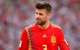 Ngôi sao Pique bất ngờ từ giã đội tuyển Tây Ban Nha