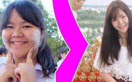 """Từng mang biệt danh """"voi nước"""" với cân nặng 1 tạ, nữ sinh Thái Lan lột xác thần kỳ trong vòng 1 năm"""