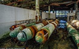 Cảnh hoang tàn bên trong cơ sở hạt nhân bí mật thời Liên Xô