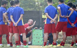 Rốt cuộc, U23 Việt Nam cũng có được buổi tập như ý trên đất Indonesia
