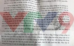 Vụ gửi công văn đe dọa truy sát giám đốc đài VTV9: Có thể xem xét xử lý hình sự