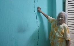Huế: Hàng loạt nhà dân quanh dự án 'khủng' bị lún, nứt