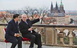 Thương nhân bí ẩn trong đoàn tháp tùng ông Tập và tuyên bố hậu thuẫn TQ ở trời Âu của Séc
