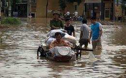 Mưa, ngập lụt nhiều nơi, Thanh Hóa sơ tán số lượng lớn dân