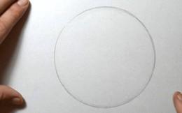 Tại sao vẽ đường tròn hoàn hảo bằng tay lại là việc cực kỳ khó?