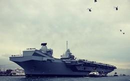 """Anh đưa tàu chiến khủng tới Mỹ nhưng sợ Nga """"phá đám"""""""
