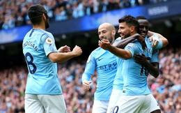 """Thủ thành kiến tạo mở tỷ số, Man City thắng hủy diệt để """"xưng bá"""" Premier League"""
