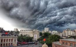Bức ảnh bầu trời Hà Nội đang được chia sẻ nhiều nhất trên mạng xã hội hôm nay