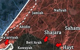 Quân đội Syria bắt sống hơn 200 tay súng IS tại chiến địa Yarmouk, Daraa