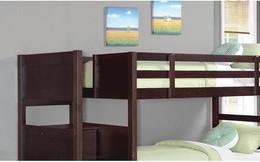 Mẫu giường tầng tiết kiệm diện tích dành cho trẻ em