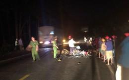 3 người thương vong sau khi 2 xe máy tông nhau