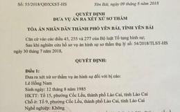 Đưa ra xét xử sơ thẩm kẻ hành hung bác sĩ tại BV Sản Nhi Yên Bái