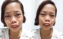 """Bị miệt thị """"xấu ma chê quỷ hờn"""", mẹ đơn thân bán hàng online kiếm tiền nuôi con bật khóc nức nở ngay trên sóng livestream"""