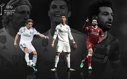 Lionel Messi bật khỏi top 3 cầu thủ xuất sắc nhất châu Âu