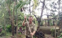 """Ly kỳ chuyện """"Võ Tòng"""" ở Đắk Lắk chỉ dùng cuốc đánh nhau với hổ lớn 1,5 tạ"""