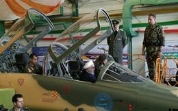 Cận cảnh máy bay chiến đấu thế hệ mới của Iran