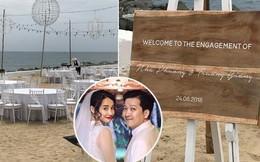 HOT: Loạt ảnh hiếm hoi về bãi biển nơi diễn ra lễ đính hôn của Trường Giang và Nhã Phương