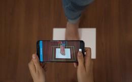 Xuất hiện App đo chân 100% của người Việt