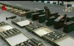 Quân đội Syria chiếm kho vũ khí thánh chiến khổng lồ tại Daraa