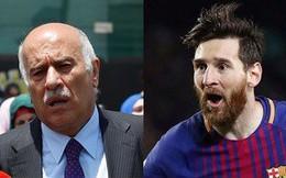Xúi giục CĐV đốt áo Messi, chủ tịch LĐBĐ Palestine trả giá đắt