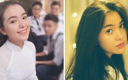 Mặc áo dài đã xinh, đến khi nhìn thấy ảnh đời thường của nữ sinh trường Trần Phú này ai cũng ngất ngây!