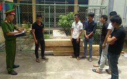 Bắt 6 đối tượng cướp gỗ ở Trạm bảo vệ rừng