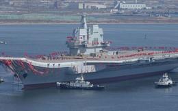 Tàu sân bay nội địa Trung Quốc lần thứ hai ra biển thử nghiệm