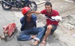 Trưởng nhóm phòng chống tội phạm ở Sài Gòn bị thương khi bắt trộm